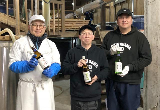 大森産米を増やして日本酒造り