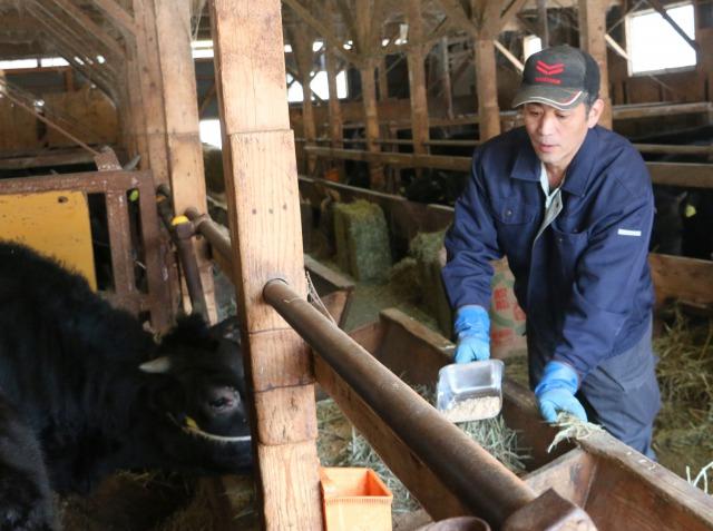 和牛一貫経営 A4以上9割が目標