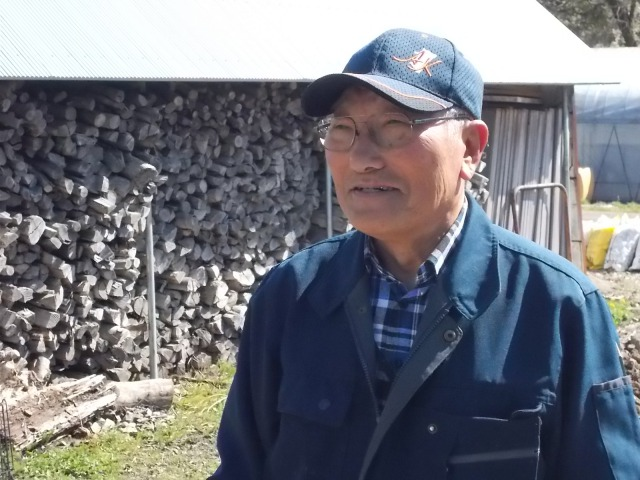 水稲・シイタケの収入減少